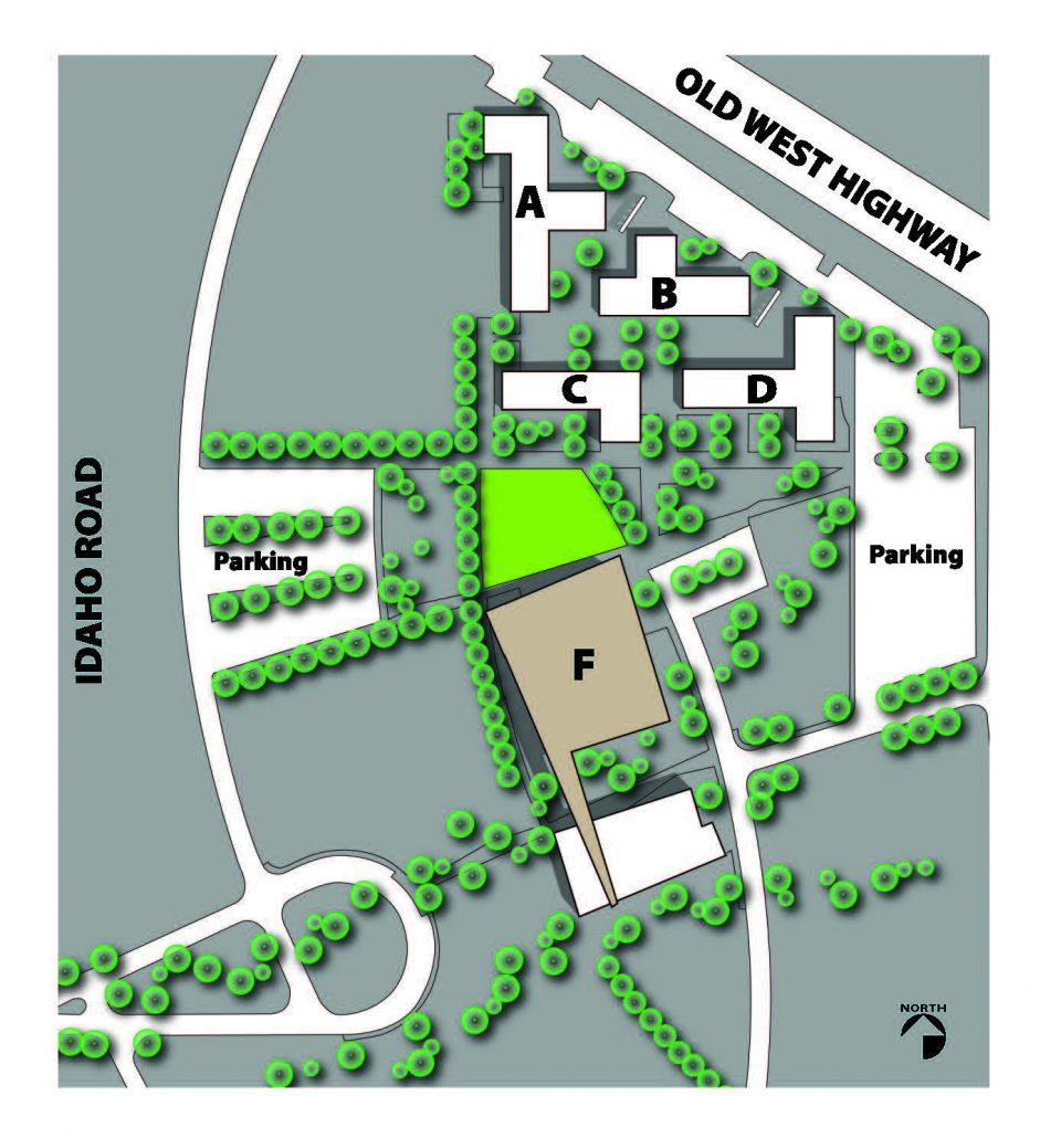 Map of Superstition Mountain Campus