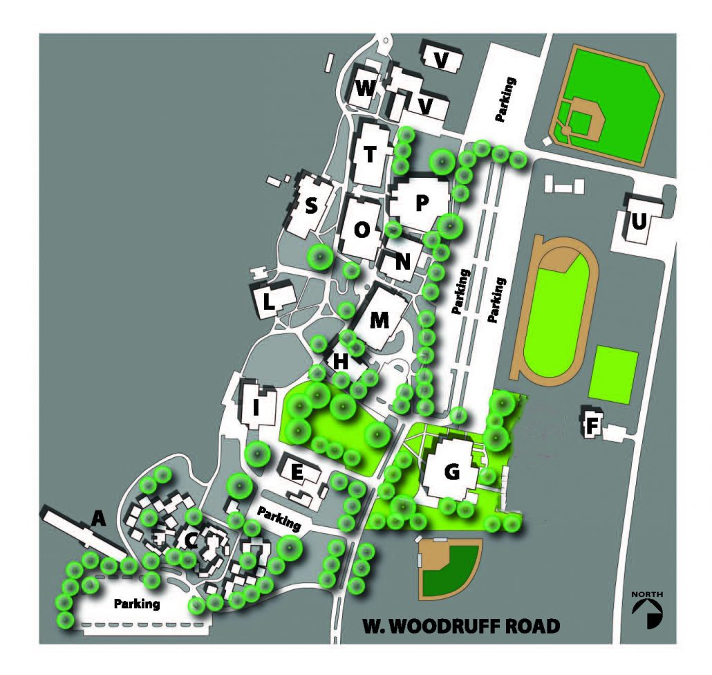 Signal Peak Campus Map