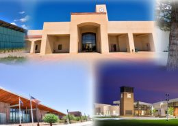 image of five CAC campuses