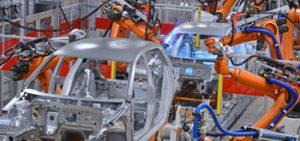 Auto manufacturing plant