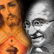 Jesus & Ghandi pictures