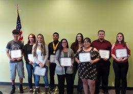 Aravaipa Academic Plus Award Recipients