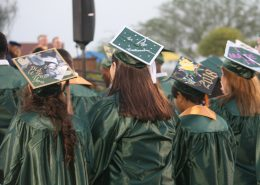CAC Graduates Decorated Mortar Boards