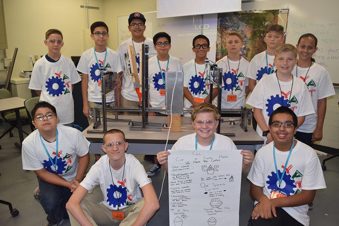 Students at YATA Camp 2017