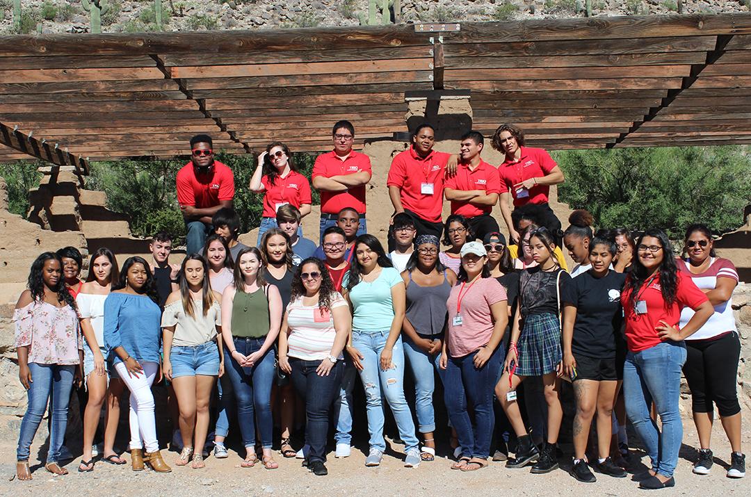 TRIO Summer bridge 2017 Participants