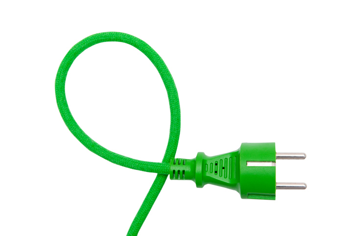 unplugged electrical cord