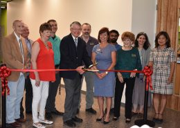 Ribbon Cutting at new CAC Science Building
