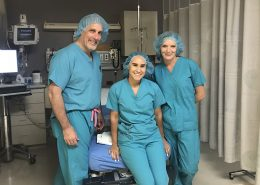 Esmeralda Sierra with Advanced Orthopedic PA and DR