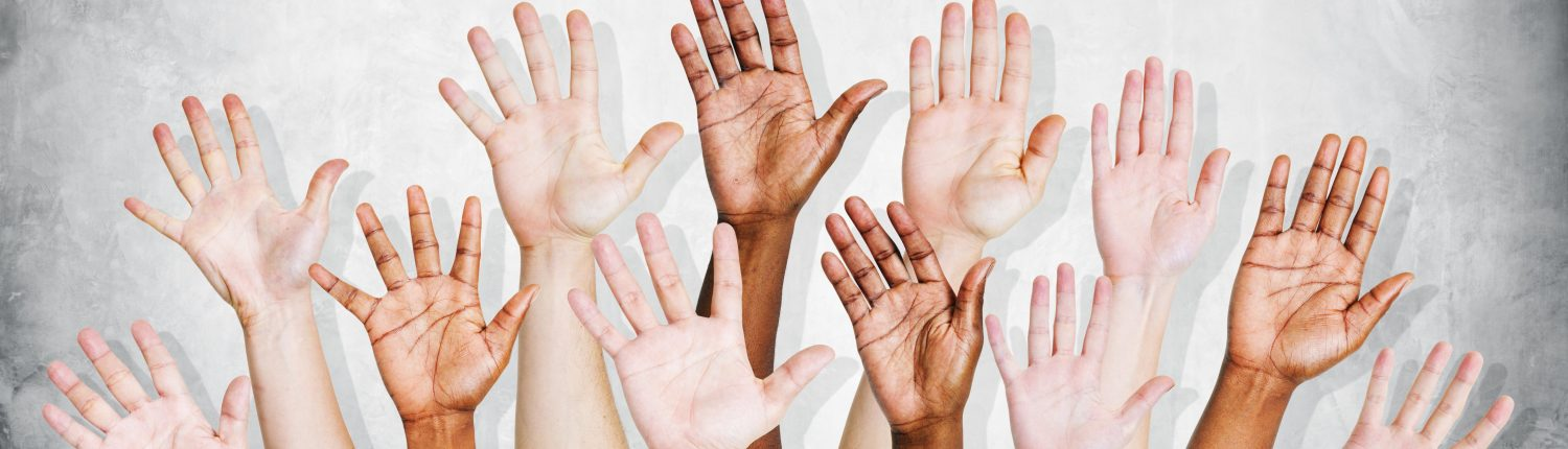 Diversity hands Center for Cultural & Civic Engagement Image