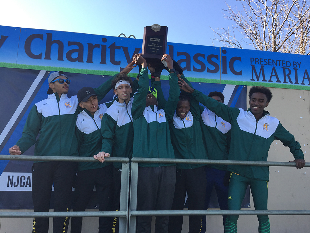 CAC men's cross country team national champions