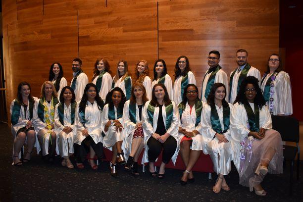 Nursing graduates Fall 2018