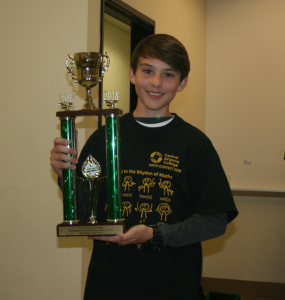 1st Place Individual Competition –Justin Navarre – J.O. Combs