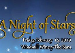 A night of stars at windmill winery image