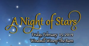 A night of stars at windmill winery image