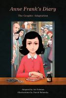 cover of library book Anne Frank's Diary: The Graphic Adaptation