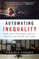 cover of library book automating inequality