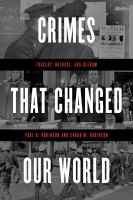 cover of library book Crimes that Changed Our World