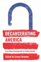 cover of library book Decarcerating America