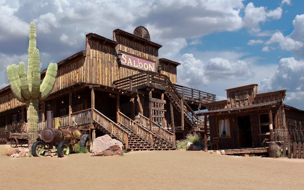 AZ desert saloon