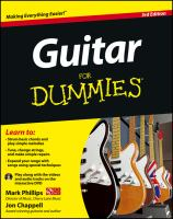 cover of book Guitar for Dummies