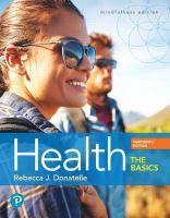cover of library book Health the Basics