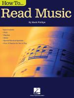 cover of library book How to Read Music