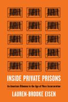 cover of library book Inside Private Prisons