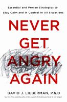 cover of library book Never Get Angry Again