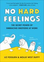 cover of library book No Hard Feelings