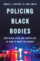 cover of library book Policing Black Bodies