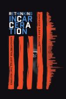 cover of library book Rethinking Incarceration