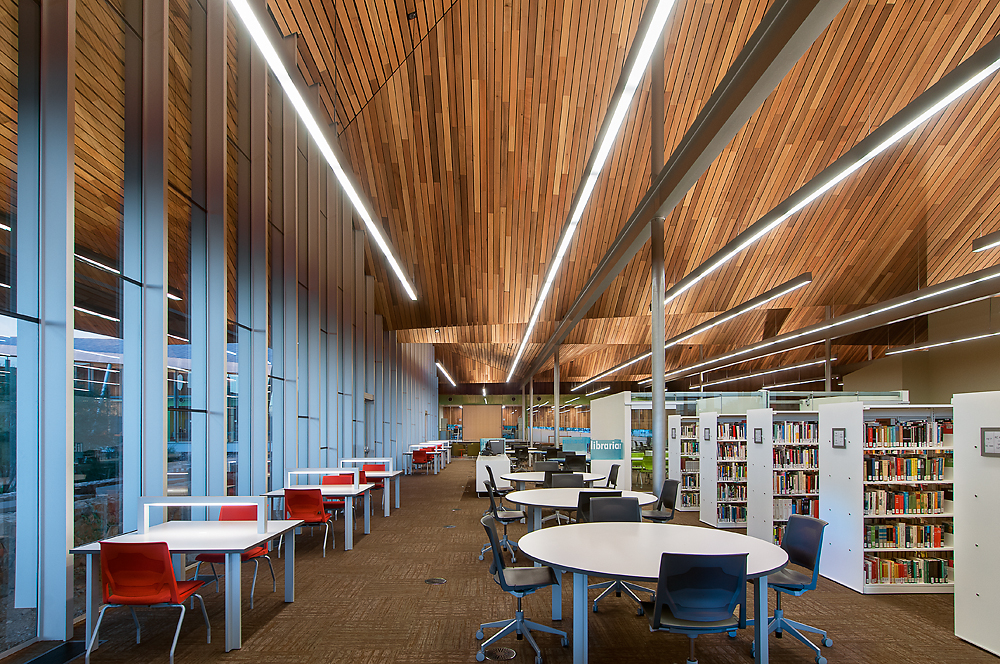 inside Superstition Mountain Campus Library