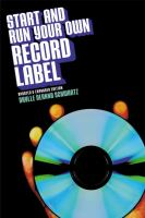 cover of library book Start and Run Your Own Record Label