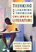 cover of library book Thinking and Learning Through Children's Literature