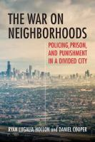 cover of library book War on Neighborhoods