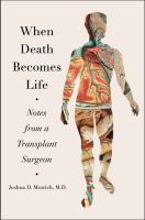 cover of library book When Death Becomes Life
