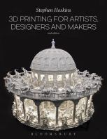 cover of library book 3D Printing for Artists, Designers and Makers