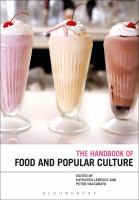 cover of library book Bloomsbury Handbook of Food and Popular Culture