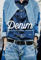 cover of library book Denim Street Style, Vintage, Obsession