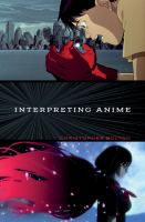 cover of library book Interpreting Anime
