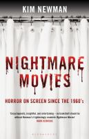 cover of library book Nightmare Movies: horror on screen since the 1960s