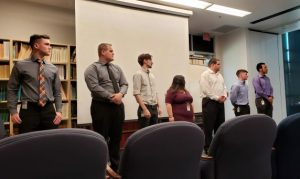 CAC Student data team presents at USDA Ag Research Center