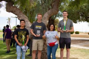 CAC HS Math Contest winners 040419