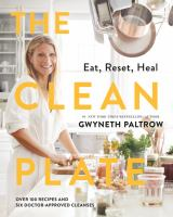 cover of library book Clean Plate Eat, Reset, Heal
