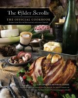 cover of library book Elders Scrolls the Official Cookbook Recipes from Skyrim, Morrowind, and Across Tamriel