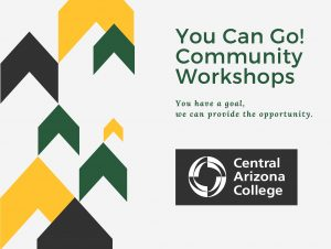 You can go community workshops
