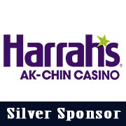 Silver sponsor Harrahs Casino