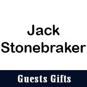 Guest Gift Sponsor Jack Stonebraker