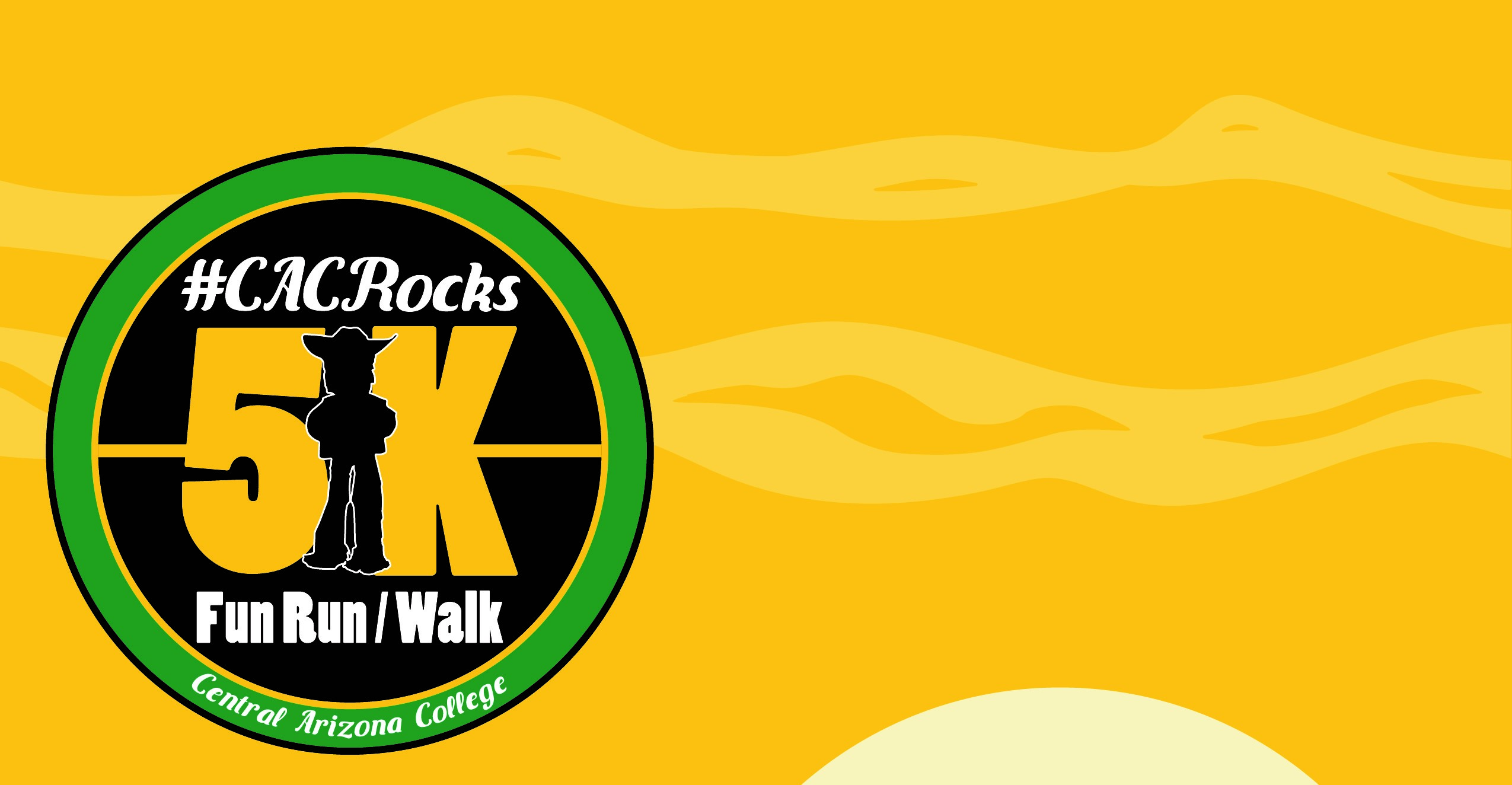 CAC Rocks Logo with yellow background