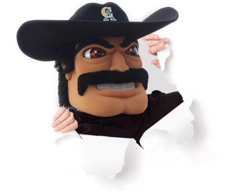 Mascot Vaquero Pete